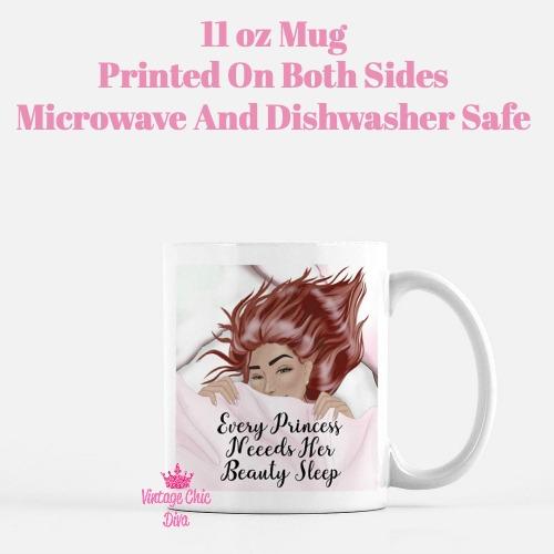 Beauty Sleep Girl5 Coffee Mug-