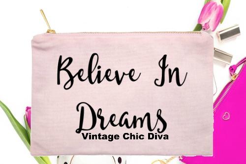 Believe In Dreams Pink-