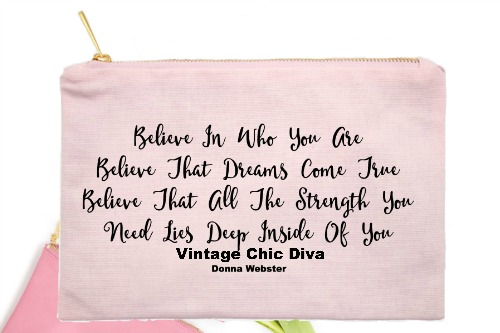 Believe In Who You Are Believe That Dreams Come True Pink-