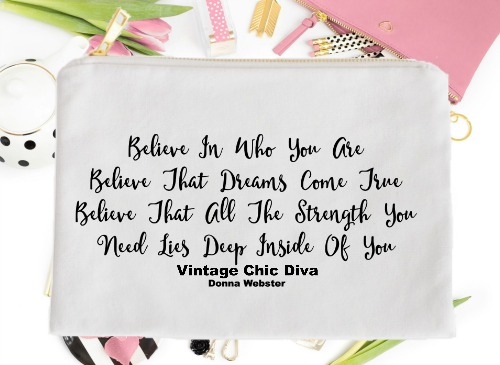 Believe In Who You Are Believe That Dreams Come True White-