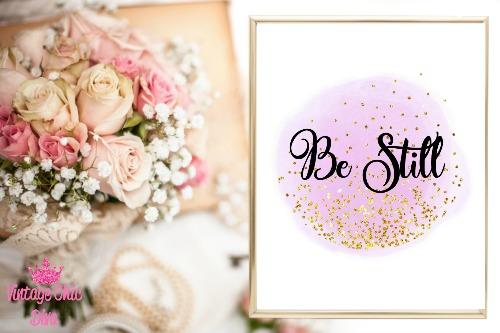 Be Still-