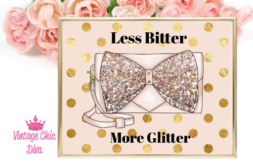 Betsey Johnson Pink Sequin Purse Blush Gold Dot Background-