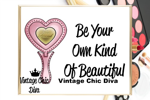 Be Your Own Kind Of Beautiful1 Wh Bg-