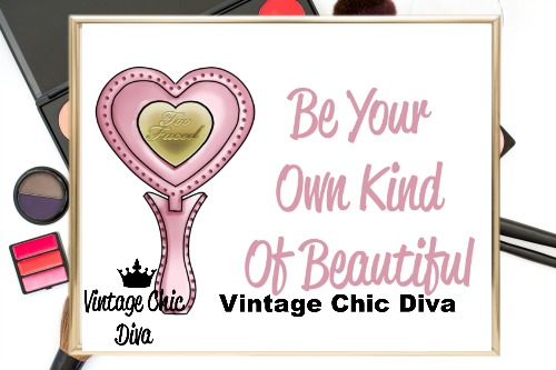 Be Your Own Kind Of Beautiful2 Wh Bg-