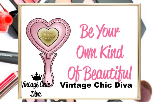 Be Your Own Kind Of Beautiful3 Wh Bg-