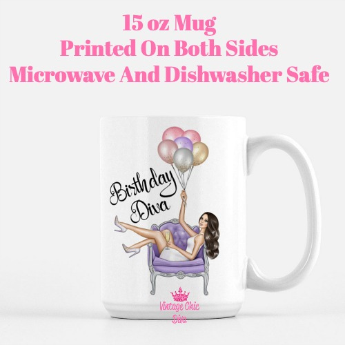 Birthday Diva1 Coffee Mug-