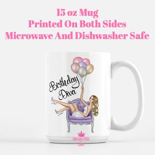 Birthday Diva2 Coffee Mug-