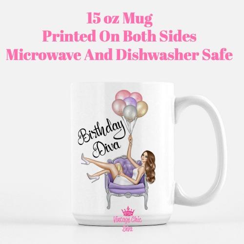 Birthday Diva3 Coffee Mug-