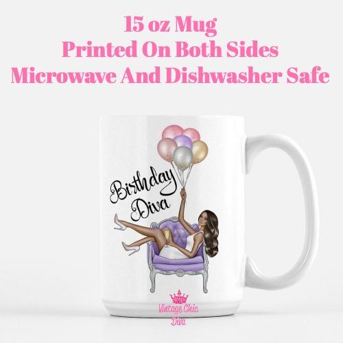 Birthday Diva4 Coffee Mug-
