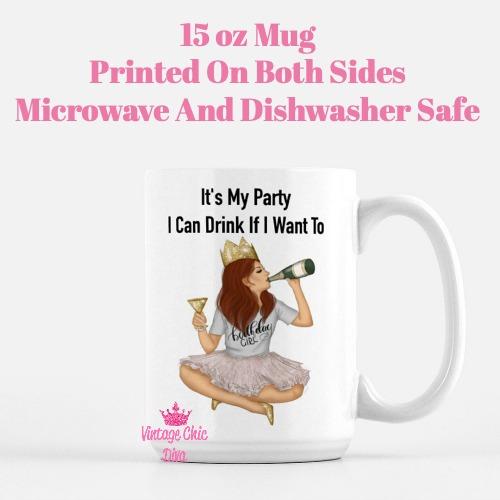 Birthday Girl3 Coffee Mug-