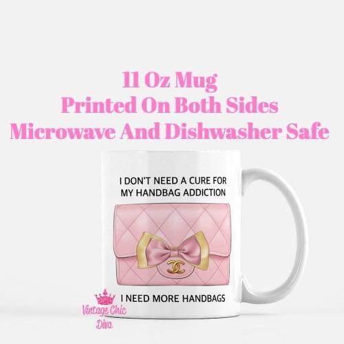 Blush Chanel Handbag Quote15 Coffee Mug-