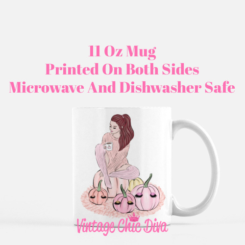 Blush Fall Girl18 Coffee Mug-