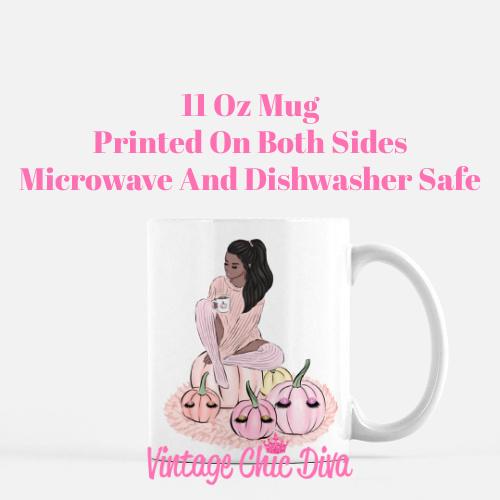Blush Fall Girl20 Coffee Mug-