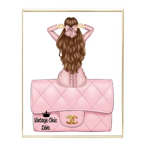 Blush Glam Fashion Girl Set11 Wh Bg-