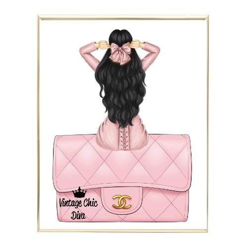 Blush Glam Fashion Girl Set12 Wh Bg-
