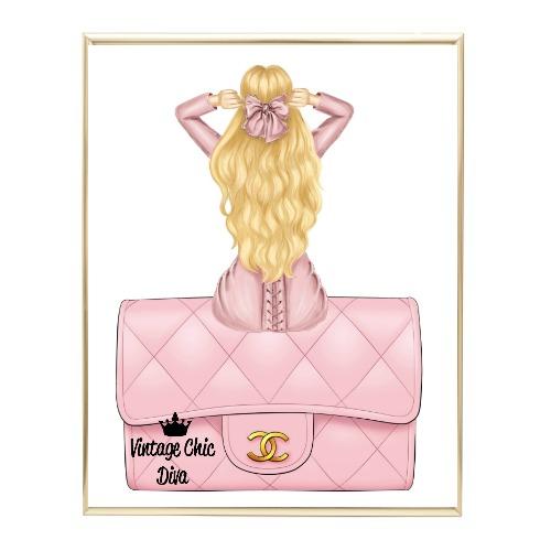 Blush Glam Fashion Girl Set13 Wh Bg-
