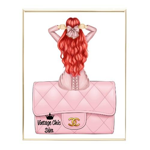 Blush Glam Fashion Girl Set14 Wh Bg-