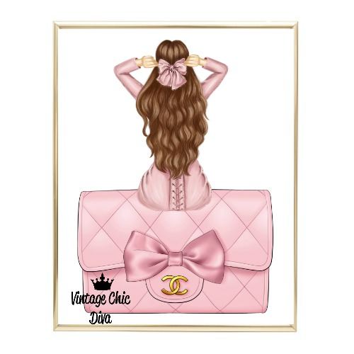 Blush Glam Fashion Girl Set16 Wh Bg-