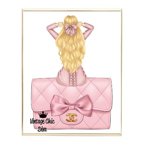 Blush Glam Fashion Girl Set18 Wh Bg-