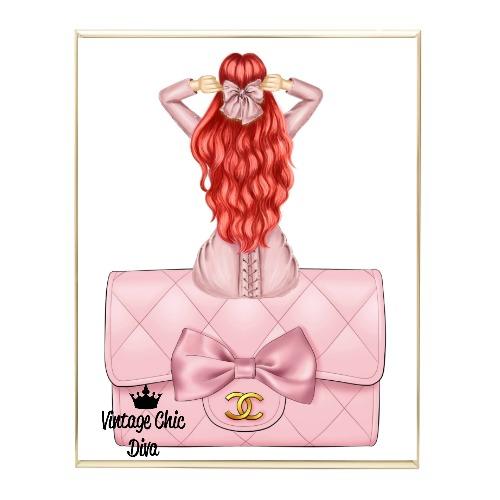 Blush Glam Fashion Girl Set19 Wh Bg-