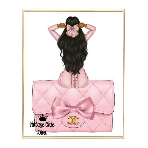 Blush Glam Fashion Girl Set20 Wh Bg-