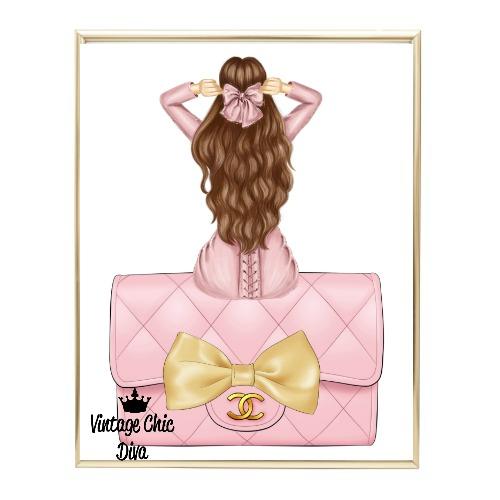 Blush Glam Fashion Girl Set21 Wh Bg-