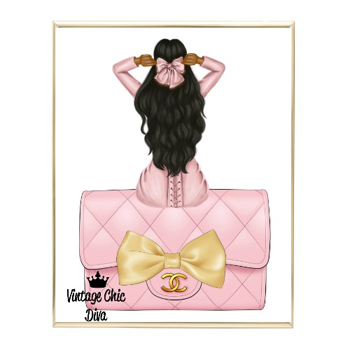 Blush Glam Fashion Girl Set25 Wh Bg-