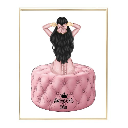 Blush Glam Fashion Girl Set2 Wh Bg-