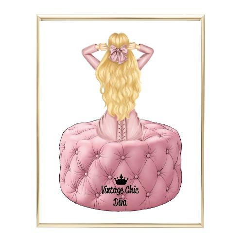 Blush Glam Fashion Girl Set3 Wh Bg-