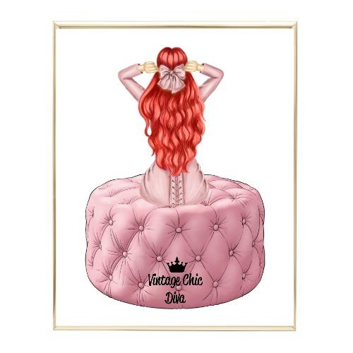 Blush Glam Fashion Girl Set4 Wh Bg-