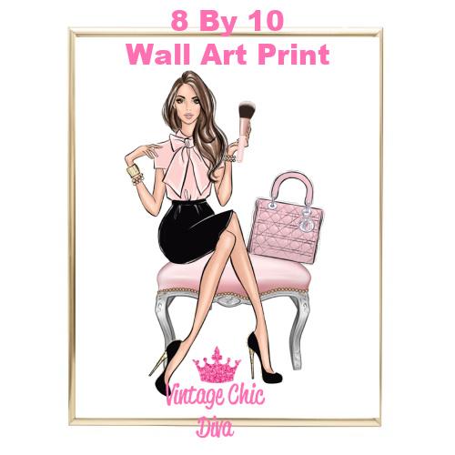 Blush Makeup Girl Vanity11-