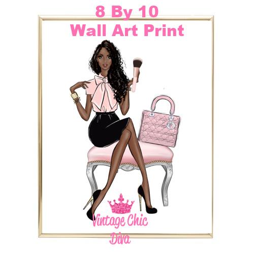 Blush Makeup Girl Vanity12-