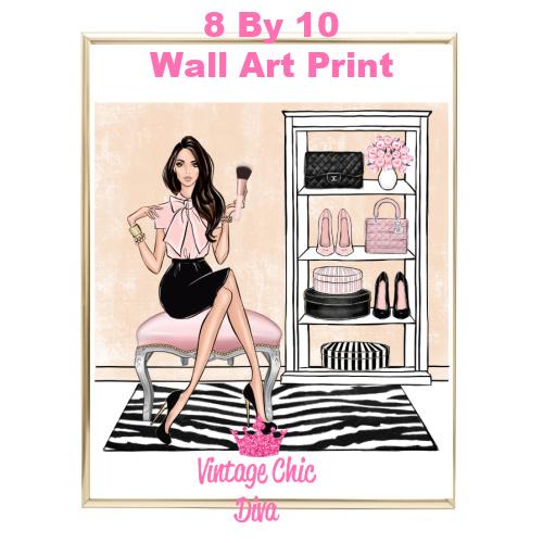 Blush Makeup Girl Vanity13-
