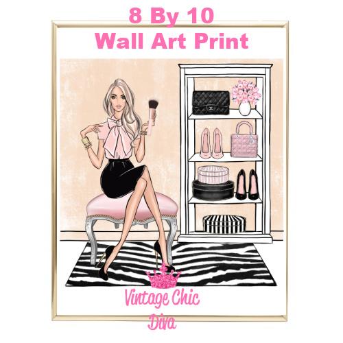 Blush Makeup Girl Vanity14-