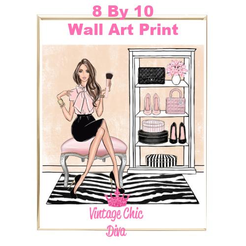 Blush Makeup Girl Vanity15-