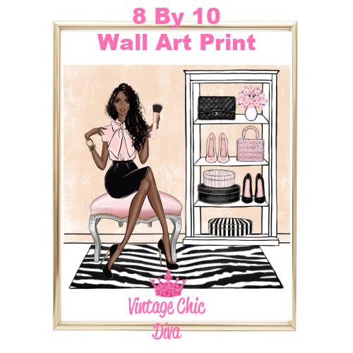 Blush Makeup Girl Vanity16-