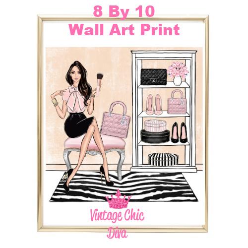 Blush Makeup Girl Vanity17-