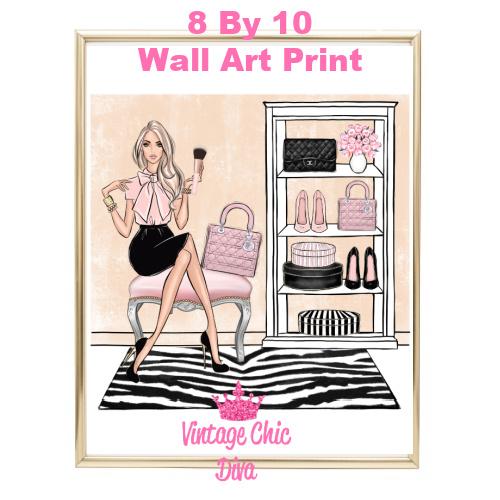Blush Makeup Girl Vanity18-