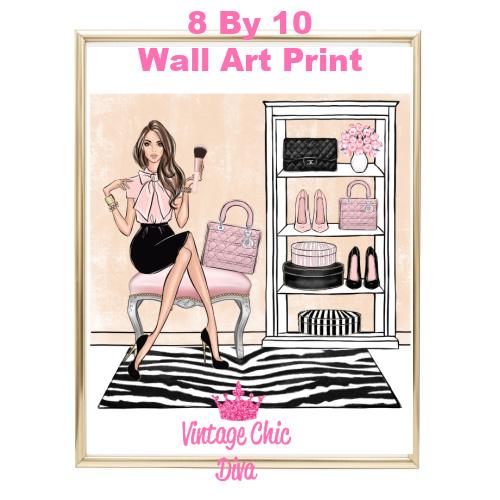 Blush Makeup Girl Vanity19-