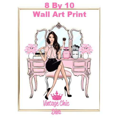 Blush Makeup Girl Vanity1-
