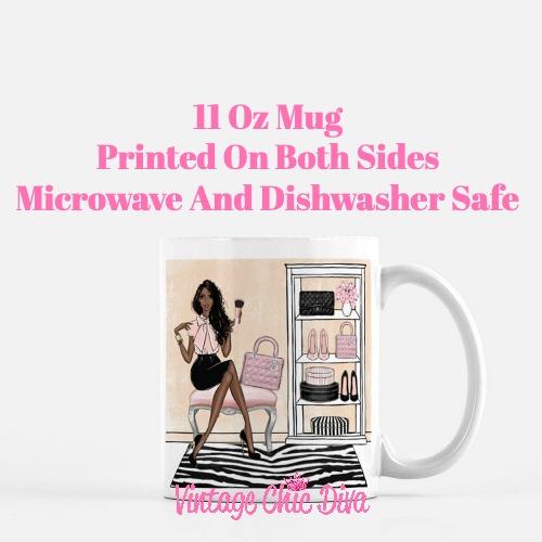 Blush Makeup Girl Vanity20 Coffee Mug-