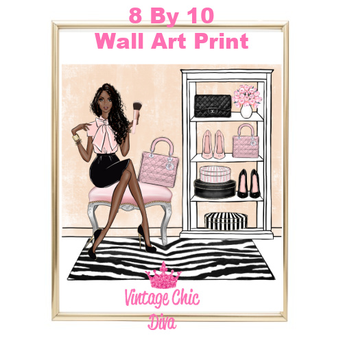 Blush Makeup Girl Vanity20-