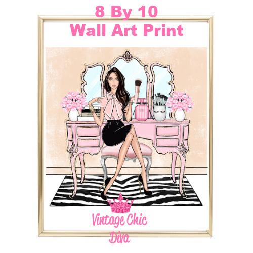 Blush Makeup Girl Vanity21-