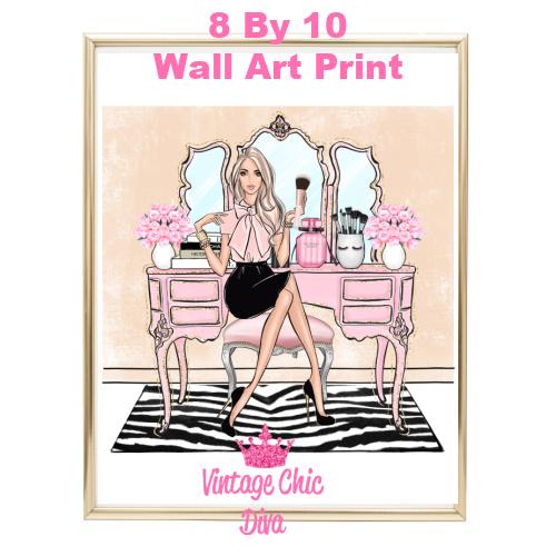 Blush Makeup Girl Vanity22-