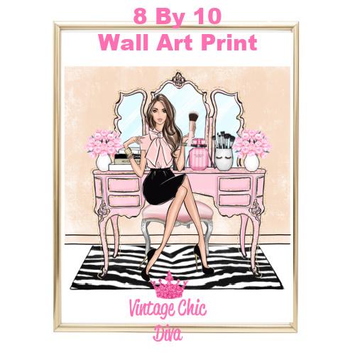 Blush Makeup Girl Vanity23-