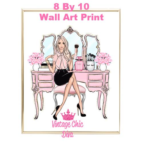 Blush Makeup Girl Vanity2-