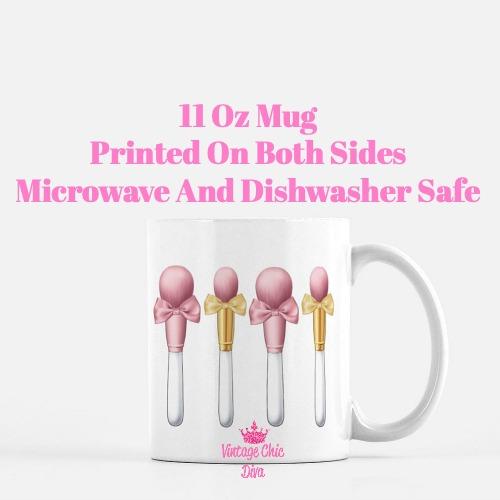 Blush Pink Brush Set1 Coffee Mug-