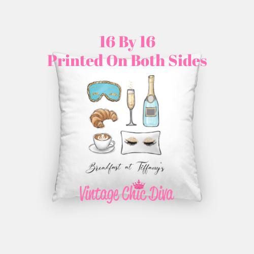Breakfast At Tiffanys1 Pillow Case-