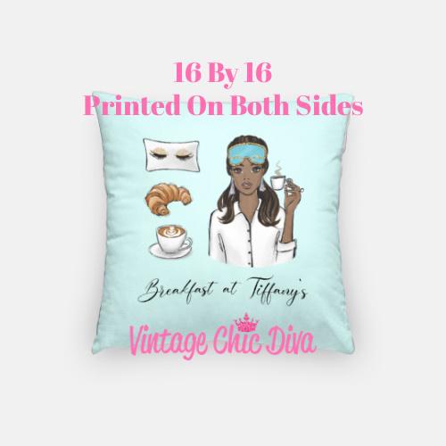 Breakfast At Tiffanys Girl2 Pillow Case-