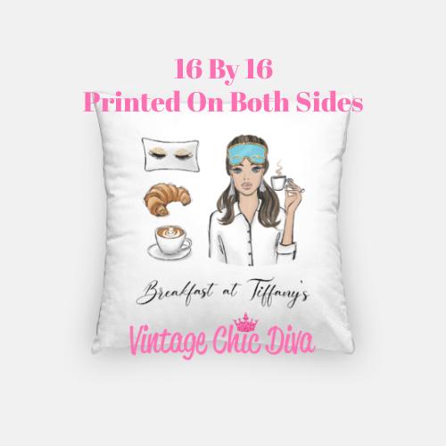 Breakfast At Tiffanys Girl3 Pillow Case-